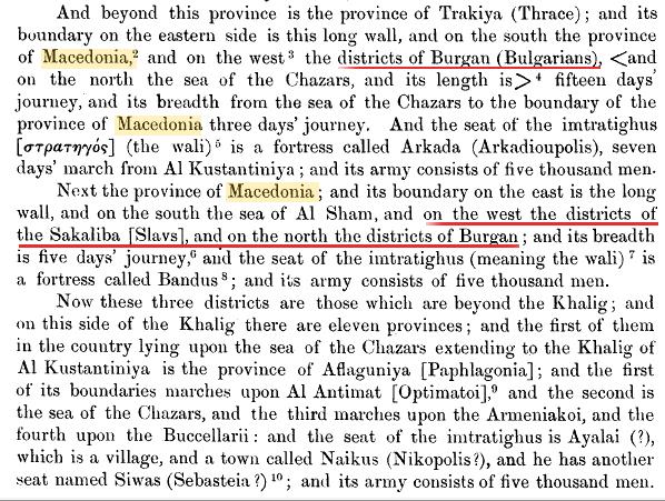 arabcatalogue Macedonia and Slavs in an Arabic Catalogue of Byzantine Themes