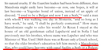birthyugoslavia2 A Slav from Macedonia almost a century ago: I used to be a Bulgar and now i am a Serb