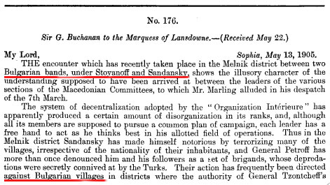 britishpapers7 1906   Rare documents from the British House of Commons about the Macedonian Question
