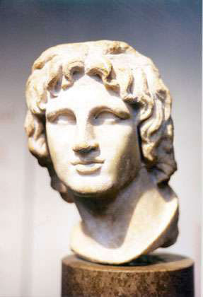 head Alexander The Great Biography  The Path to Deification