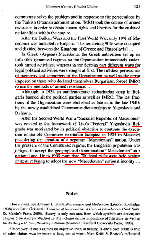 "idenatiden125 How the Lie was created   Bulgarians forced to renounce their Bulgarian identity and become ""Macedonians"""