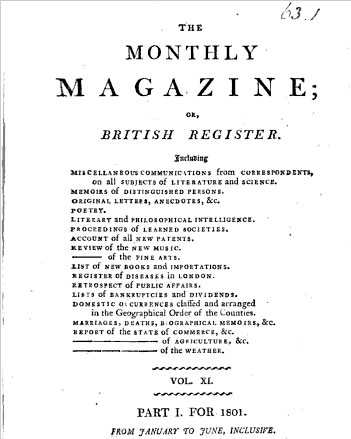 monthlymagazine 1801   the name Macedonians of course identified Greeks