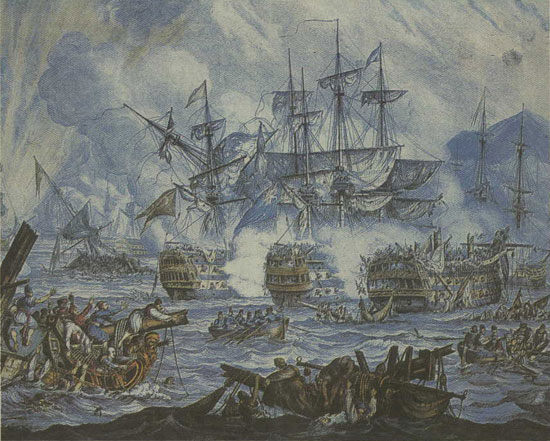 naumaxia navarino 1821   Ο Αφανισμός των «Προσκυνημένων»