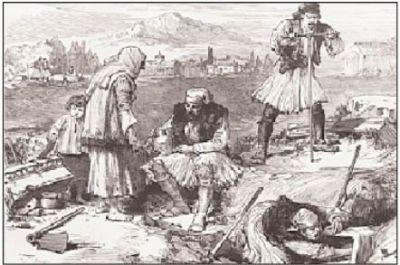 normal korinthos1877  Oι Περιπέτειες των Αρχαιοτήτων πριν και μετά την ίδρυση του Eλληνικού Kράτους και τα πρώτα μέτρα προστασίας