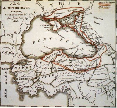 normal mithridatis4 Το Βασίλειο του Πόντου ή Βασίλειο των Μιθριδατών (302   64 π.Χ.)
