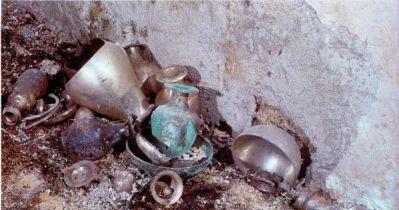 normal skeui sumposiou Τα Mακεδονικά Συμπόσια   Tα αρχαιολογικά ευρήματα σε Bεργίνα και Δερβένι