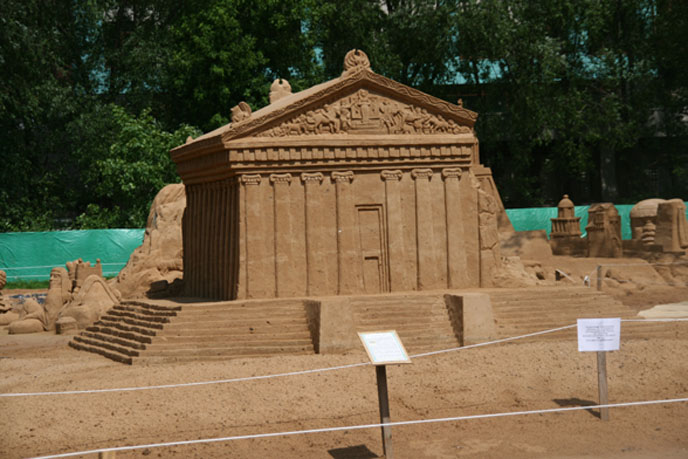 sand2 Φεστιβάλ Γλυπτών απο... Άμμο στην Μόσχα!!