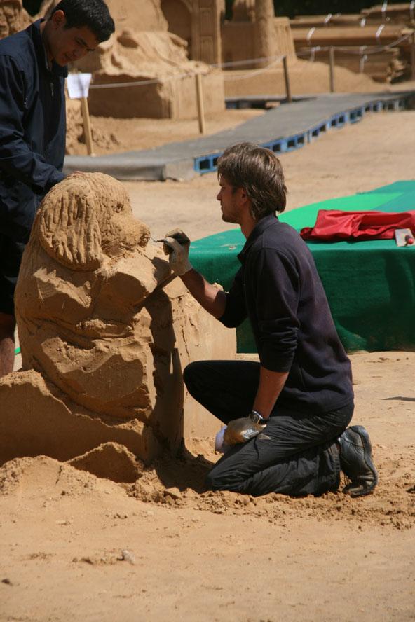 sand4 Φεστιβάλ Γλυπτών απο... Άμμο στην Μόσχα!!